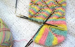Вязание пятки бумеранг — подробное описание и способы ✂