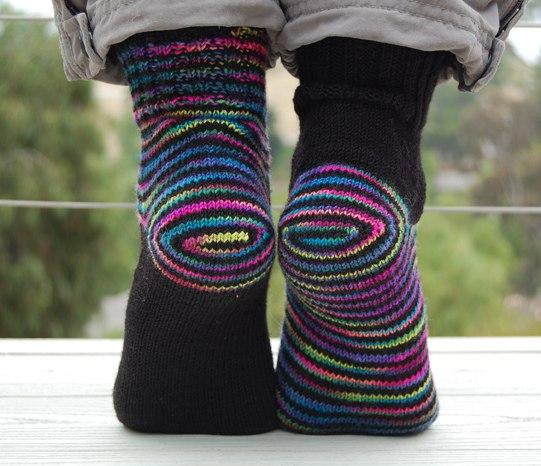 Носки из натуральной ткани для пяток