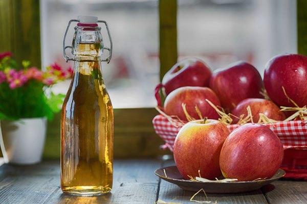Яблочный уксус для пяток