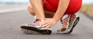 Ушиб пятки у спортсмена после бега