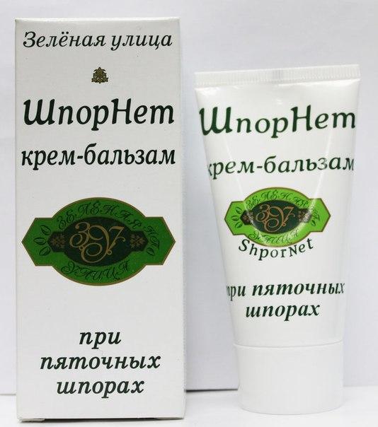 Крем-Бальзам ШпорНет при пяточной шпоре