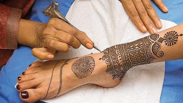 Индийские тату