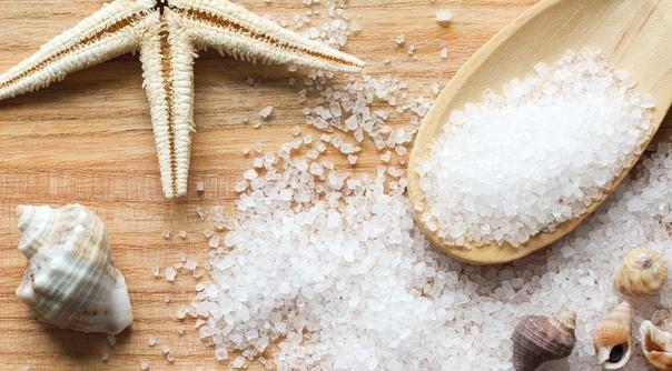 Ванночки с морской солью при покалывании в пятках